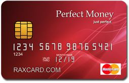 Withdraw your money through the #PerfectMoney #ATM #card. #RaxCard provides fully anonymous credit or debit, visa, master card to anyone, no matter, in what country you are living. Order now with free express shipping.