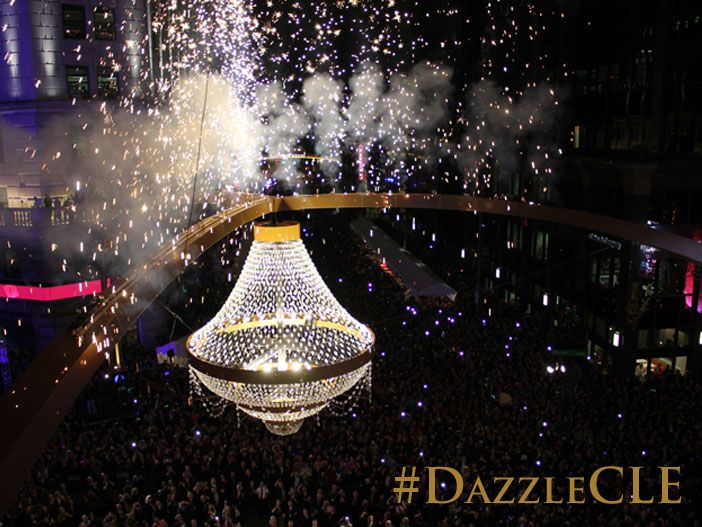 Playhouse Square Lights Up #Cleveland with Dazzle the District! #DazzleCLE #ThisisCLE