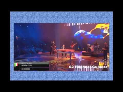 Eurovision: Italy's top 3 songs ( 2011 a 2013)