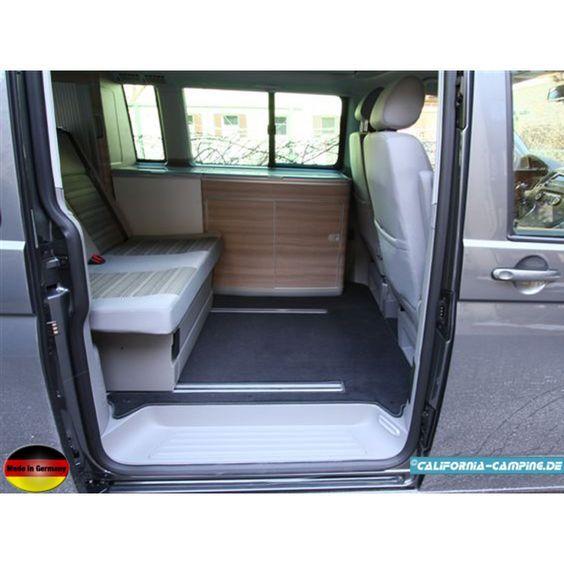 Wohnraumteppich für den T5 California Comfortline aus Edelvelour 4