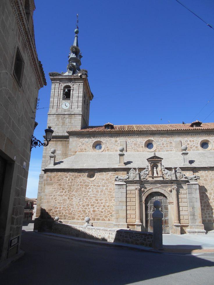 Iglesia de Santiago. Blasón.