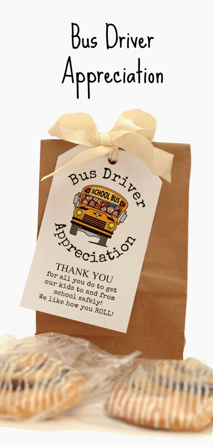 Bus Driver Appreciation, I like how you roll. Free printable tag.   Keeping My Cents blog