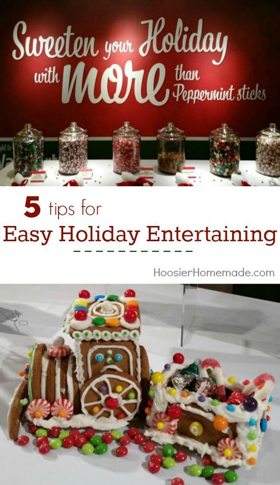 Tips for easy holiday entertaining holidays easy and for Easy entertaining tips