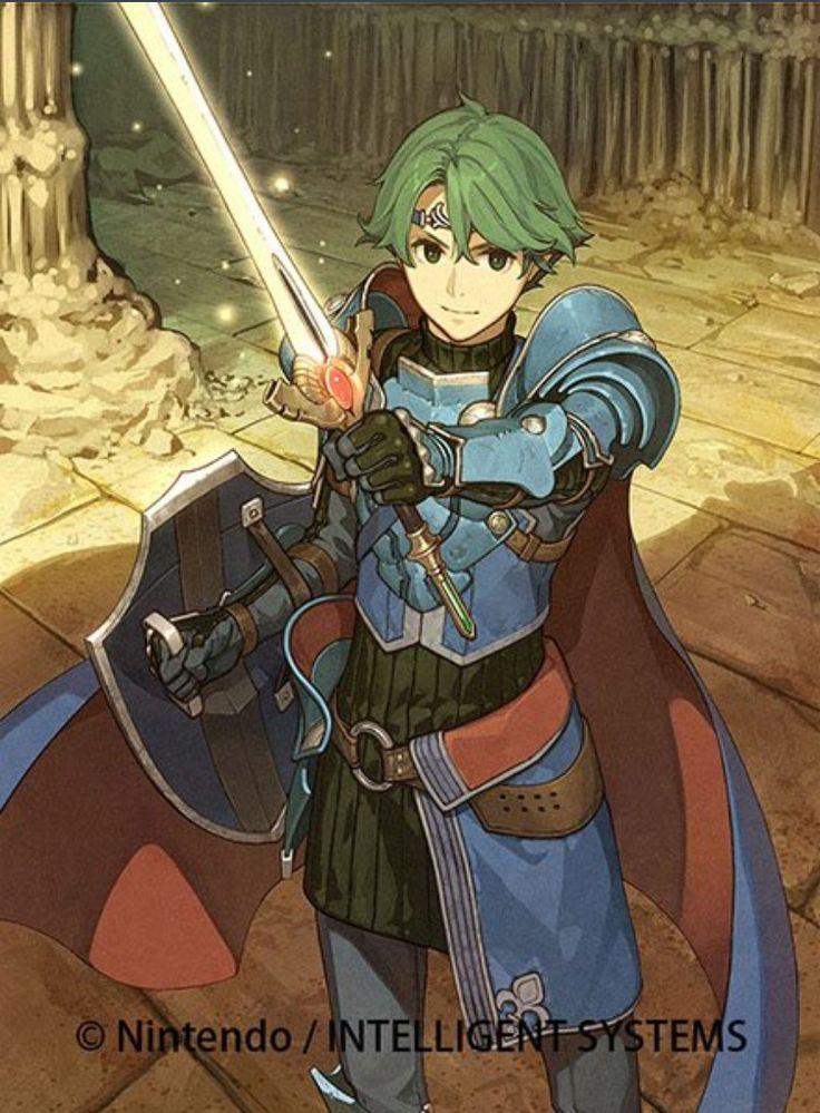 Fire Emblem Echoes: Alm as a Hero by Hidari