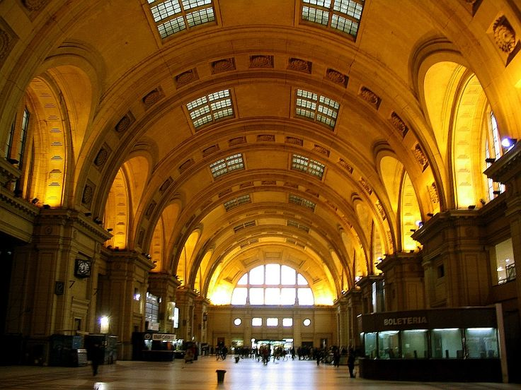 The Train station downtown BA, it is so beautiful inside, this doesn't do it justice!