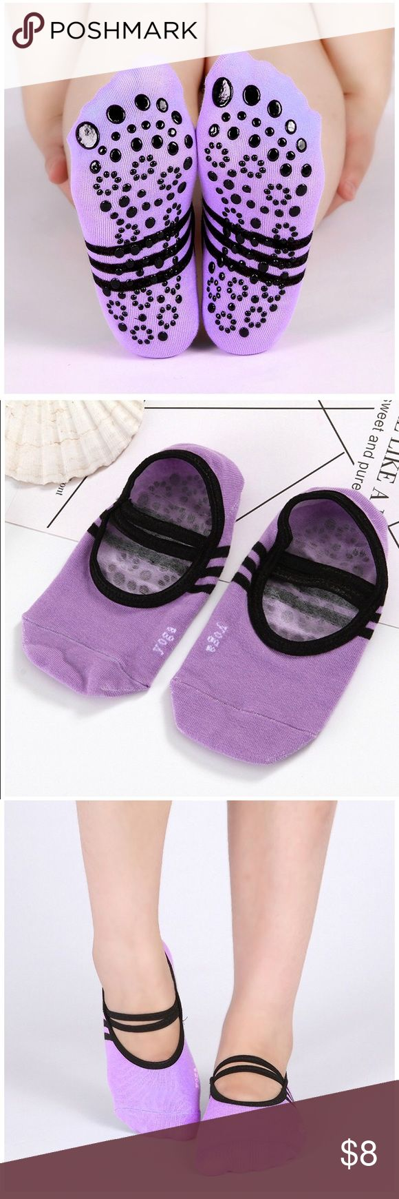 Non- slip women yoga Perfect for yoga, Pilates and ballet. 💯 % cotton Accessories Hosiery & Socks