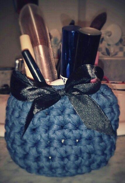 Tarro crochet
