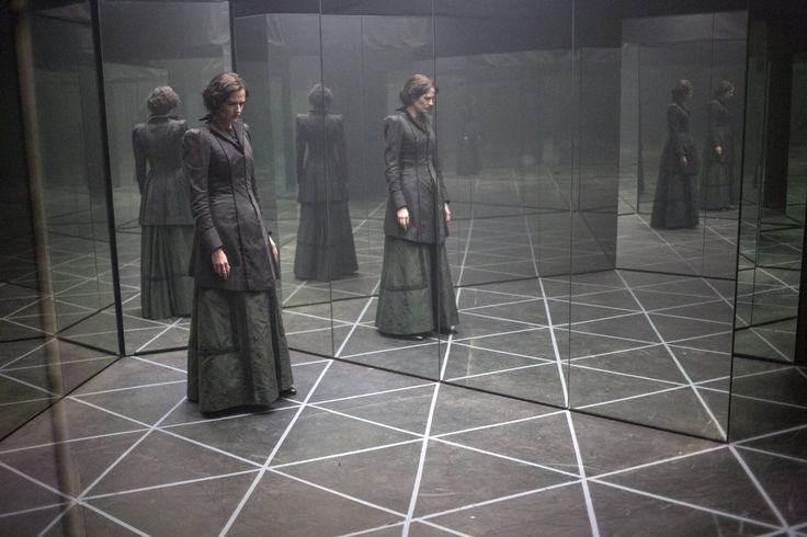 Penny Dreadful (TV Series 2014– ) Eva Green in the House of Mirrors..with Dracula
