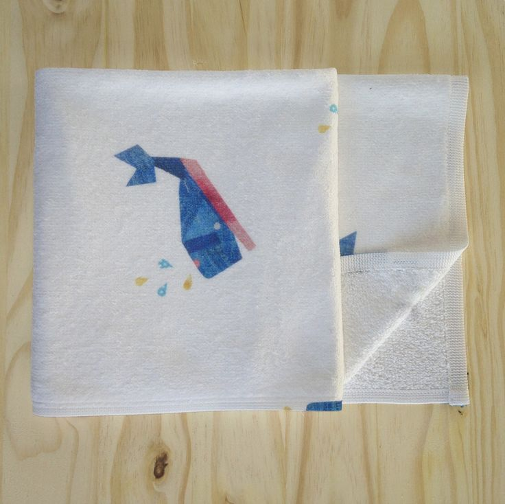 Wally Whale Toddler Towel
