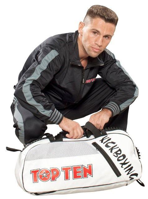 TopTen Kickboxing equipment bag and rucksack