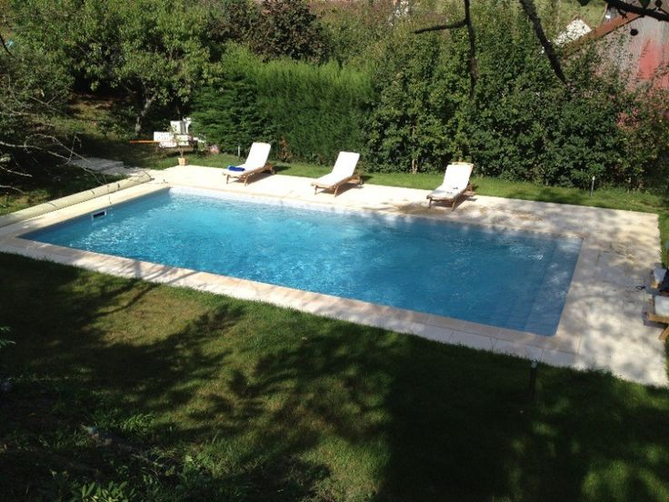 piscine #beton #Caron #Classique #detente Pool Pinterest Sweet - realiser une piscine en beton
