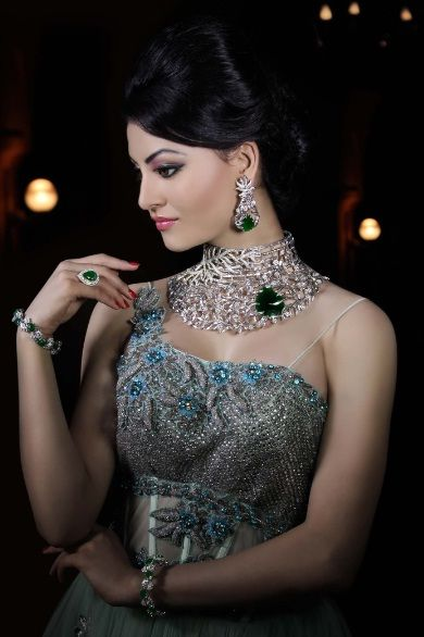 Urvashi Rautela shoots for 'Wedding Affair'
