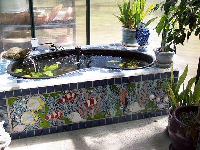 2007 Mosaics 1st Place Quot Fish Pond Quot By Paulette I Should