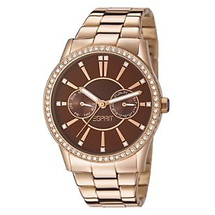 Esprit Reloj Dama Double Infusion Rose Gold