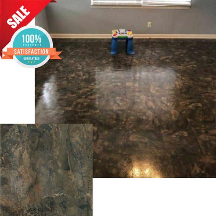 20 DIY Vinyl Floor Tiles Peel N Stick Mat Self Adhesive Flooring Tile  Furnishing