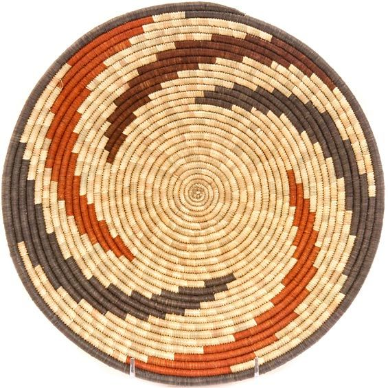 African Basket - Uganda - Rwenzori Bowl - 11.25 Inches Across - #41448