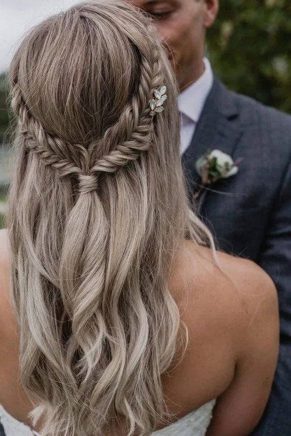 10+ Inspiring Braided Wedding Hairstyles Ideas
