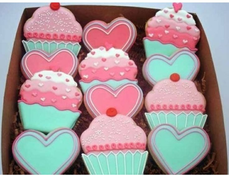 78 best icing: valentine\'s day images on Pinterest | Cookies ...