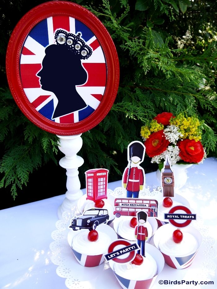 UK Inspired London themed Party                                                                                                                                                     More