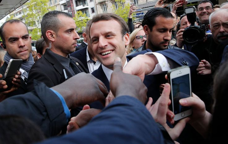 After months of trying to move the political needle in favor of Marine Le Pen in the French presidential election, American far-right activists on Saturday threw their weight behind a hacking attack against her rival, Emmanuel Macron, hoping to cast doubt on an election that is pivotal to France and the wider world.
