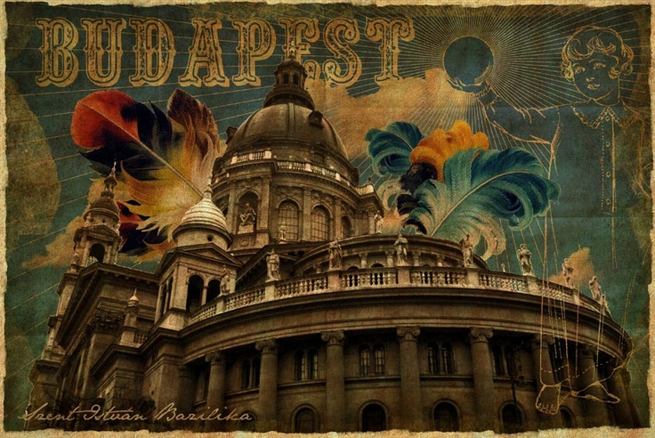 Postcard - Budapest - Basilica 2.0. Ft400.00, via Etsy.