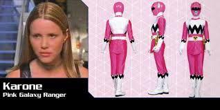 Resultado de imagen para power rangers rosa a la velocidad de la luz