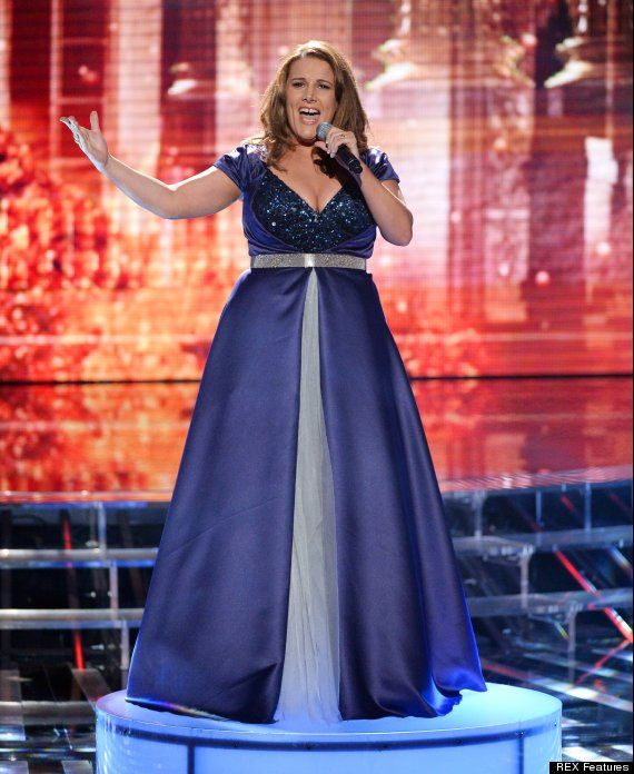 Sam Bailey - sings a heart wrenching version of My Heart Will Go On in Week 3
