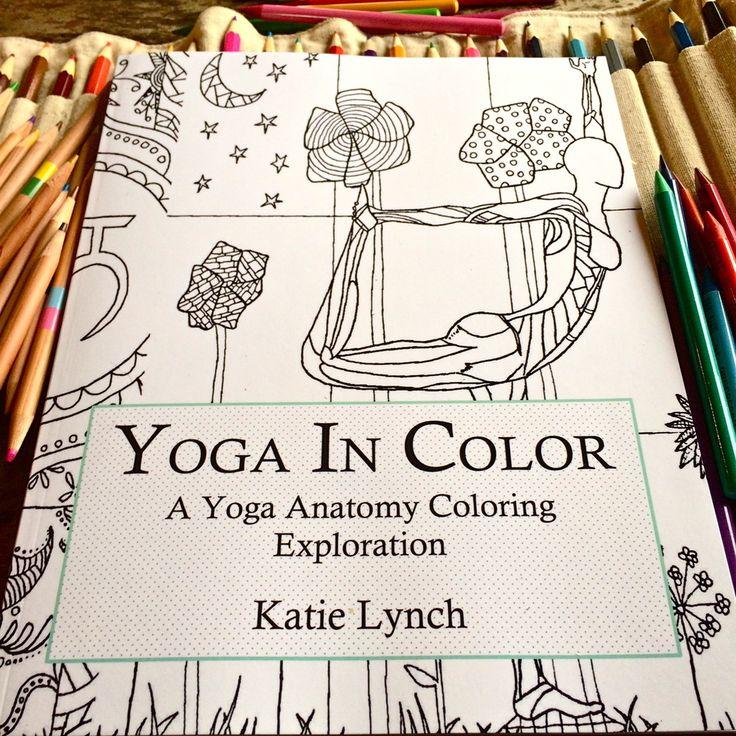 Buy Yoga In Color AnatomyAdult ColoringColoring BooksLand ArtIn