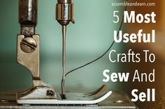 There are many kinds of crafts you can sew, one more appealing than another to your customers. Different people love different crafts for different reasons. In this post, we will talk about sewing projects your customers will love to buy because of their practical use and function. Aprons Aprons of all kinds are a successful …