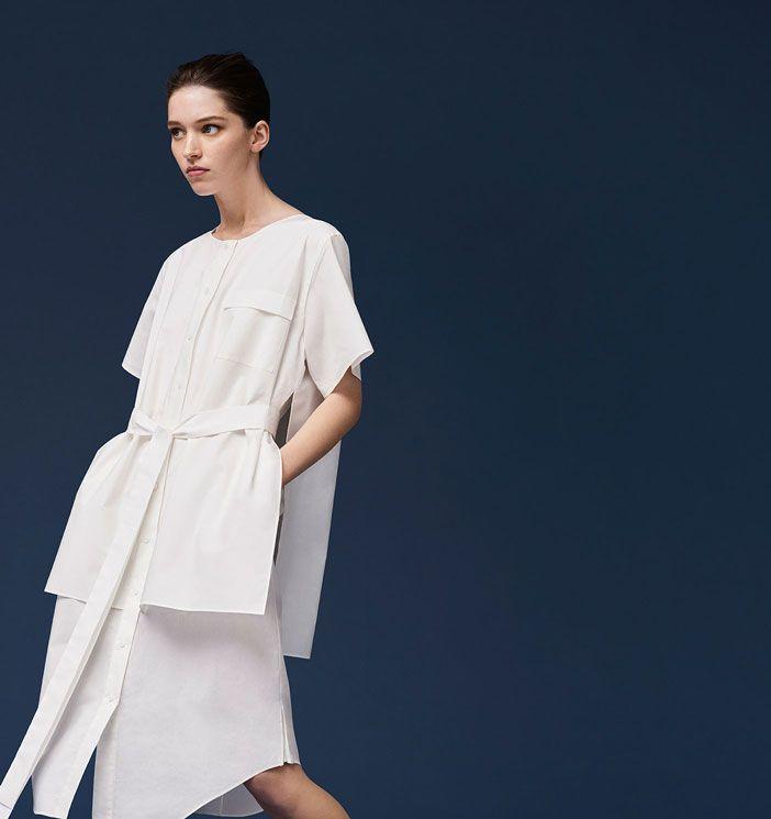 organic cotton shirt dress