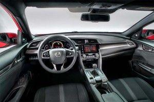 2017 Honda Civic Hatchback - interior