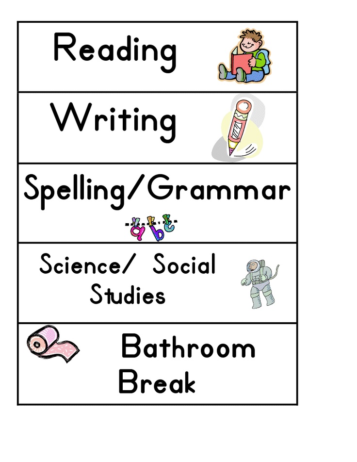 Best Scheduling Ideas Images On   For Kids Lesson