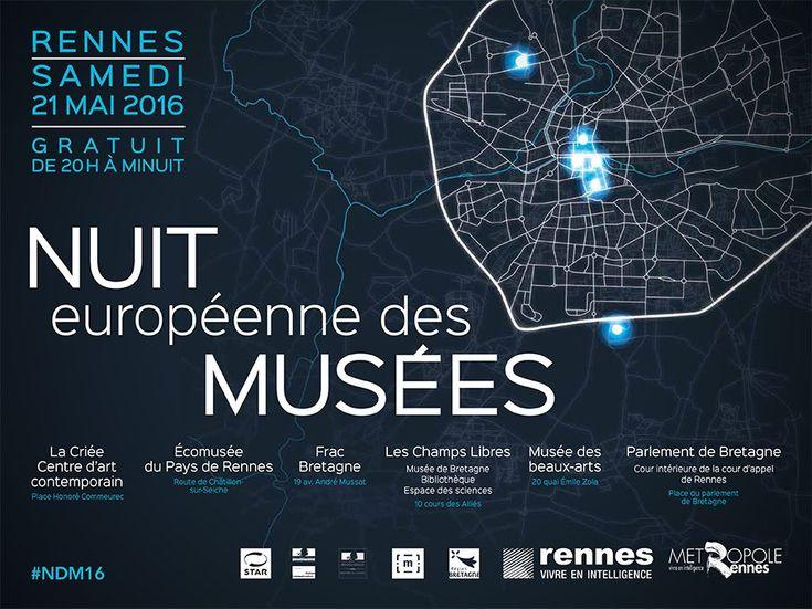 Demandez le programme : douzième nuit européenne des musées 2016 - http://www.unidivers.fr/rennes-programme-douzieme-nuit-europeenne-des-musees/ - Patrimoine, Rennes Métropole