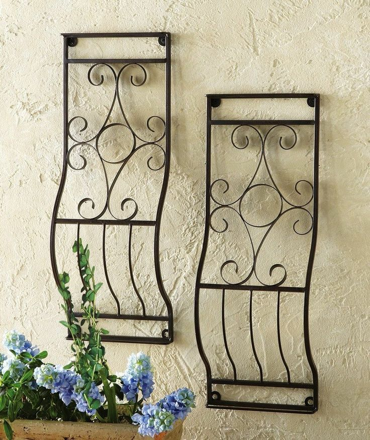 Earth alone earthrise book 1 gardens wall trellis and - Objet decoration murale metal ...