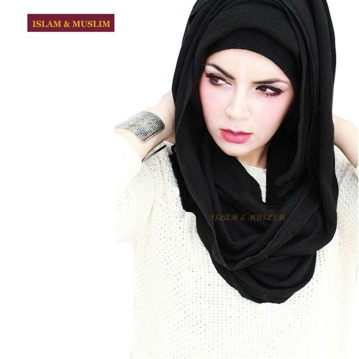 Ucuz ücretsiz kargo Müslüman düz uzun türban dubai büyük siyah başörtüsü arap islam kadın modal lycra şal 2015 fasion forması hijab, Satın Kalite islami giyim doğrudan Çin Tedarikçilerden: FREE SHIPPING wholesale muslim hijab mini ninja wrap islamic inner easy neck instant latest design turban modal black un