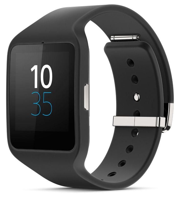 Sony SmartWatch 3 Montre connectée avec bracelet noir: Amazon.fr: High-tech