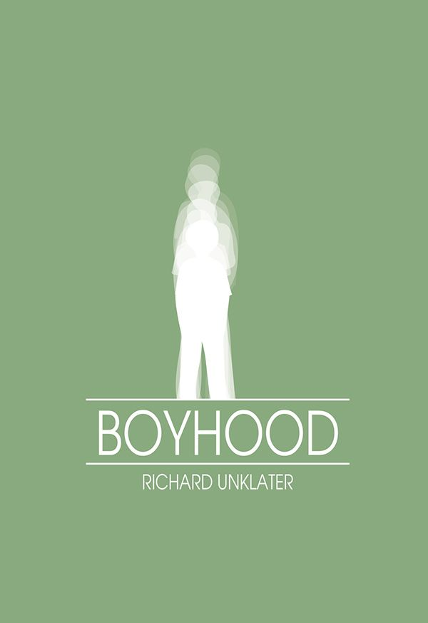 Boyhood (2014) ~ Minimal Movie Poster by Zoki Cardula #amusementphile