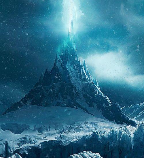 The Frozen Throne By Jan Vavrusa Fantasy Landscape