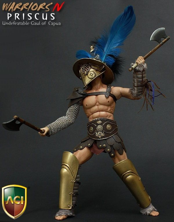 """168.00$  Buy here - http://ali43i.worldwells.pw/go.php?t=32780274037 - """"1/6 scale figure doll Roman Warrior Spartacus PRISCUS Crixus 12"""""""" action figures doll Collectible Model toy"""""""
