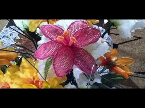 İğne oyası yaprak ve çiçek nasıl yapılır? - 10marifet - YouTube