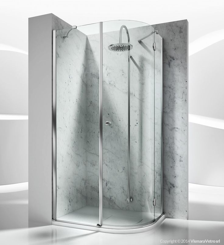 sd : sintesi shower enclosures models - pivot door | by @vismaravetro