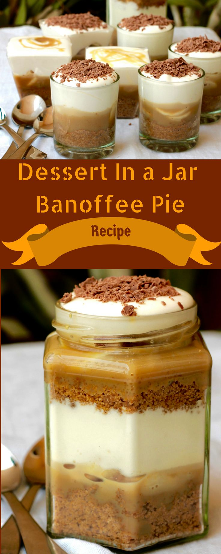 A recipe Banoffee Pie. Serve is as a Pie or single serve dessert. You can also…
