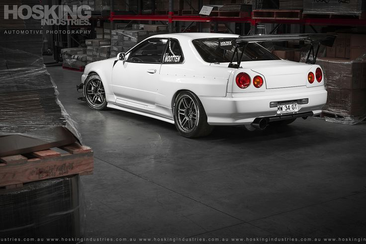 https://flic.kr/p/CW59u6   Mat Wootten's R34 GTT Nissan Skyline   Our photo shoot on Mat Wootten's insane Nissan R34 GTT Skyline made the front cover of the latest issue of Japanese Imports (aka Performance Imports), which is on sale now. We shot his circuit racer in his warehouse just outside of Newcastle, Australia, with the car only recently enjoying a fresh coat of paint - so it was looking particularly good on the day we visited. Be sure to read all about the beast in issue 197 of…