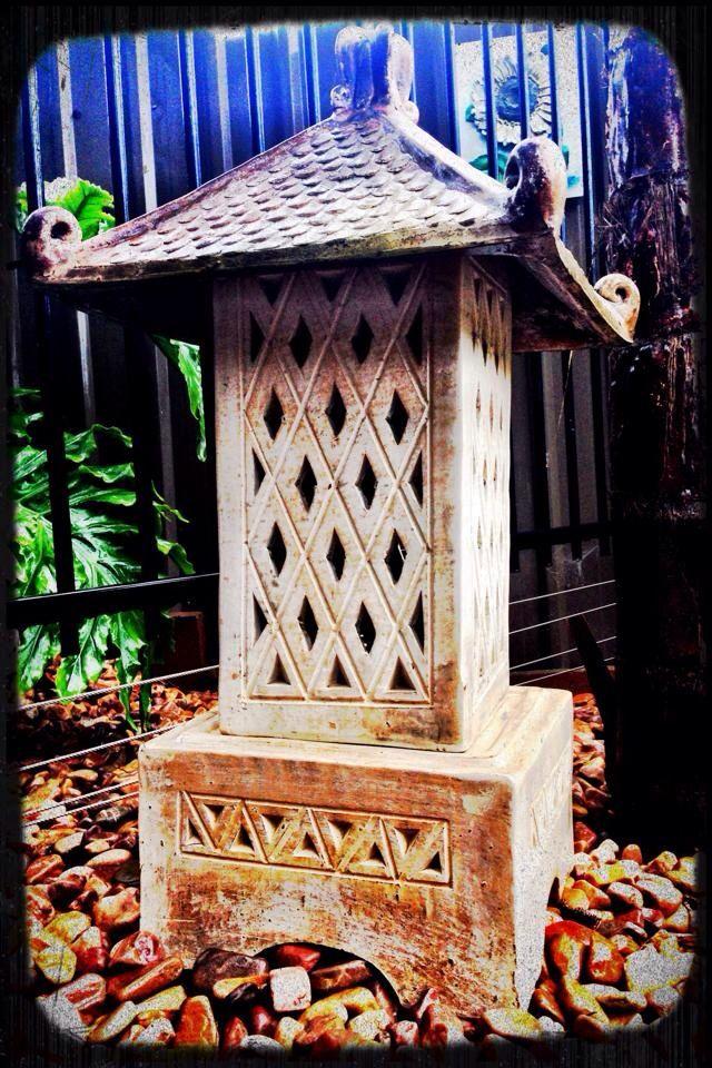 Pagoda amongst the palms