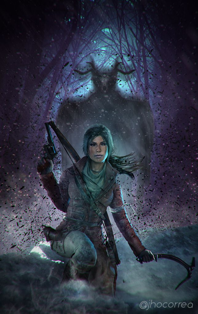 "Fanart FridayCheck out this spooky Baba Yaga inspired art for a special Friday the 13th edition of Fanart Friday! ""Into The Woods #01"" by JhoCorrea Pick up Baba Yaga: The Temple of the Witch today as part of the Rise of the Tomb Raider season pass..."