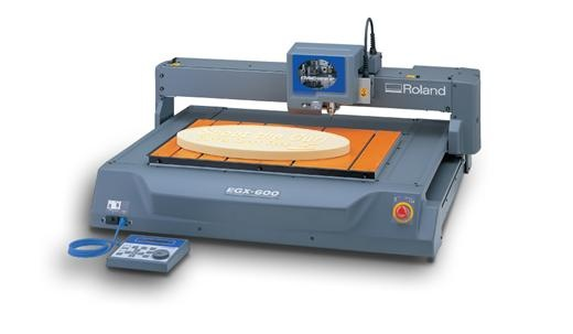 Roland EGX-600/400 Pro Series.  Take full control of your production and create stunning results at a fraction of the cost of outsourcing. Powerful, professional and affordable, the EGX PRO series represents a true price vs. performance breakthrough, making it a popular workhorse for sign makers and industrial engravers