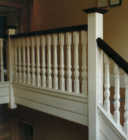 Replace railing to sunken living room with this!   Home ...