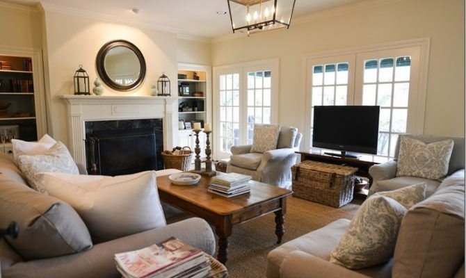 Put Front Window Instead Above House Plans 23403 Rectangular Living Rooms Furniture Placement Living Room Living Room Arrangements
