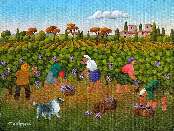 Vendemmia by Cesare Marchesini of Italy