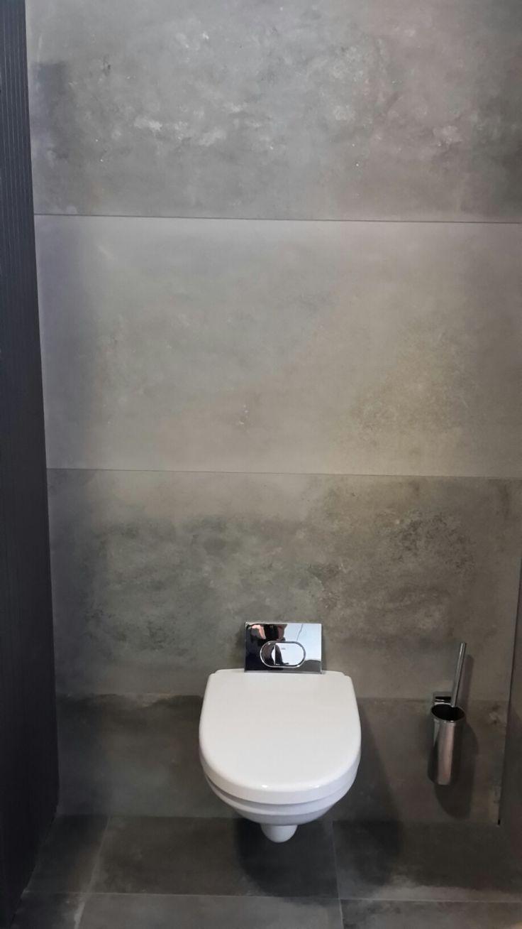 Industrial beton keramische tegel in 60 x120 cm 30 x for Faience wc toilette